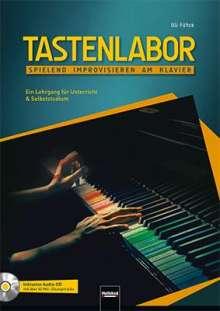 Uli Führe: Tastenlabor, inkl. CD, Buch