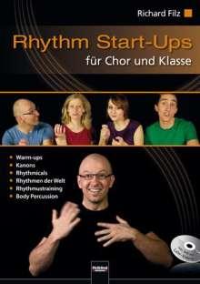 Richard Filz: Rhythm Start-Ups für Chor und Klasse, Buch