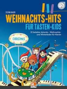 Stefan Bauer: Weihnachts-Hits für Tasten-Kids, Buch