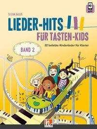 Stefan Bauer: Lieder-Hits für Tasten-Kids, Band 2, Buch