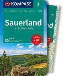 Sylvia Behla: Sauerland mit Rothaarsteig, Buch