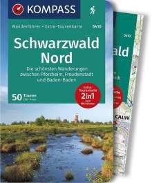 Elke Haan: Schwarzwald Nord, Die schönsten Wanderungen zwischen Pforzheim, Freudenstadt und Baden-Baden, Buch