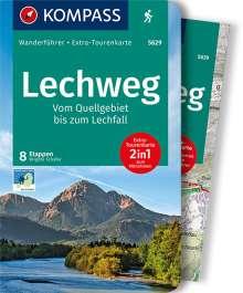 Brigitte Schäfer: Lechweg - Vom Quellgebiet bis zum Lechfall, Buch