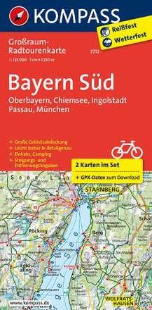KV GRK 3712 Bayern Süd 1:125 000, Diverse
