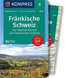 Lisa Aigner: Fränkische Schweiz mit Oberem Maintal und Hersbrucker Schweiz, Buch