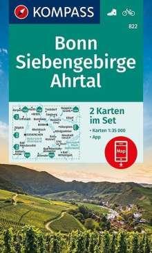 Bonn, Siebengebirge, Ahrtal 1:35 000, Diverse