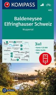 Baldeneysee, Elfringhauser Schweiz, Wuppertal 1:25 000, Diverse