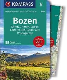 Franziska Baumann: Bozen, Sarntal, Ritten, Eppan, Kalterer See, Seiser Alm, Rosengarten, Buch