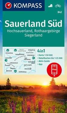 Sauerland 2, Hochsauerland, Rothaargebirge, Siegerland 1 : 50 000, Diverse