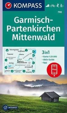Garmisch-Partenkirchen, Mittenwald 1 : 35 000, Diverse
