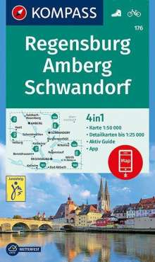 Regensburg, Amberg, Schwandorf 1:50 000, Diverse