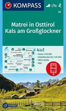 Matrei in Osttirol, Kals am Großglockner 1:50 000, Diverse