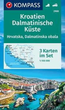 Kroatien, Dalmatinische Küste 1:100 000, Diverse