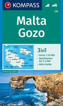 Malta, Gozo 1:25 000, Diverse