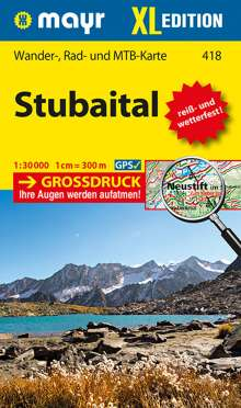 Stubaital XL  1:30 000, Diverse