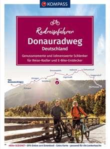 Ralf Enke: KOMPASS RadReiseFührer Donauradweg Deutschland - Genussmomente und lohnenswerte Schlenker, Buch