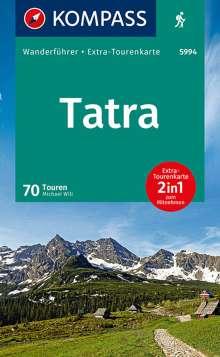 Michael Will: KOMPASS Wanderführer Tatra, Buch