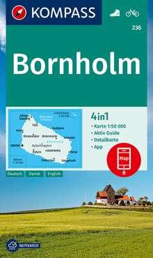 KOMPASS Wanderkarte Bornholm 1:50 000, Diverse