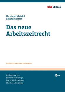 Barbara Födermayr: Das neue Arbeitszeitrecht, Buch