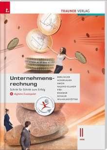Roland Berlinger: Unternehmensrechnung II HAK + digitales Zusatzpaket, Buch