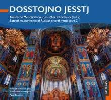 Geistliche Meisterwerke russischer Chormusik - Dosstojno Jesstj, CD