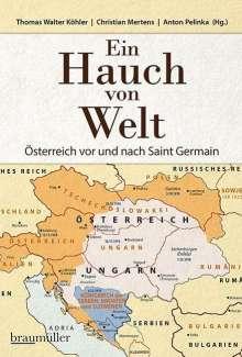 Ein Hauch von Welt - Österreich vor und nach Saint Germain, Buch