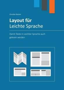 Christian Reichel: Layout für Leichte Sprache, Buch