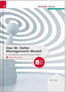 Rolf Dubs: Das St. Galler Management-Modell, Ganzheitliches unternehmerisches Denken, Buch