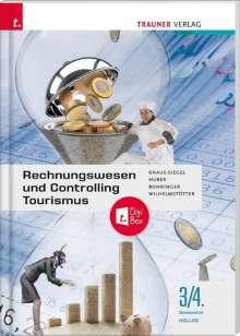 Peter Rohringer: Rechnungswesen und Controlling Kolleg 3/4 + TRAUNER-DigiBox, Buch