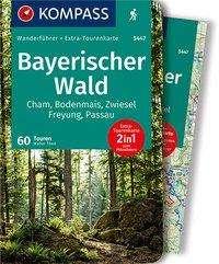 Walter Theil: KOMPASS Wanderführer Bayerischer Wald, Buch