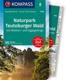 Sylvia Behla: KOMPASS Wanderführer Naturpark Teutoburger Wald mit Wiehen- und Eggegebirge, Buch