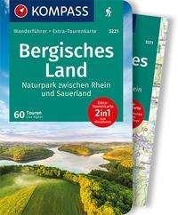 Lisa Aigner: KOMPASS Wanderführer Bergisches Land, Naturpark zwischen Rhein und Sauerland, Buch