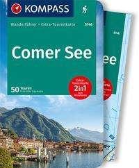 Franziska Baumann: KOMPASS Wanderführer Comer See, Buch