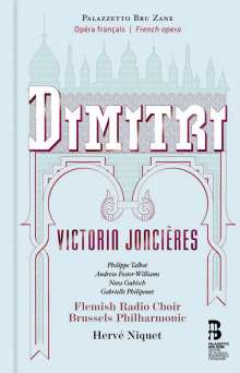 Victorin Joncieres (1839-1903): Dimitri (Oper in 5 Akten), 2 CDs