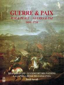 Guerre & Paix, War & Peace, Guerra & Paz 1614-1714, 2 SACDs