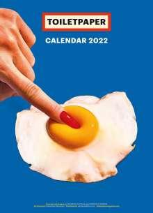 Maurizio Cattelan: Toiletpaper Calendar 2022, Buch