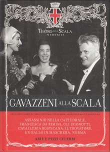Teatro alla Scala Memories - Gianandrea Gavazzeni (CDs mit Buch), CD