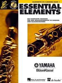 Essential Elements 01 für Klarinette Boehm, Noten