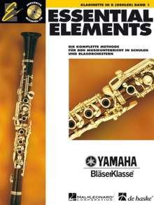 Essential Elements. Klarinette in B (Oehler) Band 1, Noten