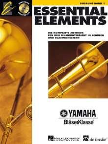 Essential Elements 01 für Posaune (BC), Noten