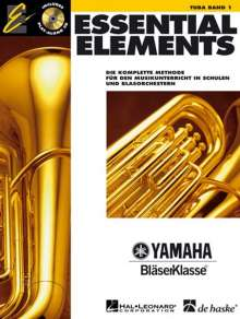 Paul Lavender: Essential Elements 01 für Tuba (BC), Noten