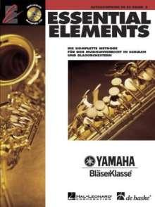 Essential Elements 02 für Altsaxophon, Noten