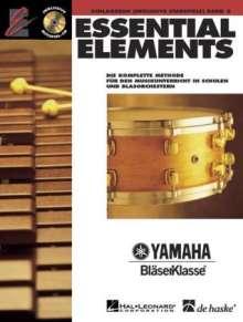 Essential Elements, für Schlagzeug (inkl. Stabspiele), m. 2 Audio-CDs. Bd.2, Noten