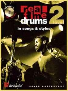 Arjen Oosterhout: Real Time Drums 2 (D), Noten