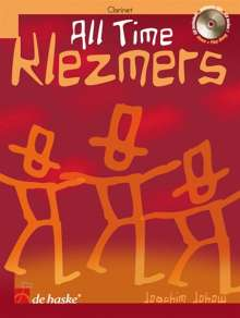 All Time Klezmers. Bb Clarinet, Noten