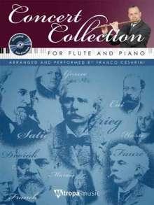 Concert Collection, für Flöte und Klavier, m. Audio-CD, Noten