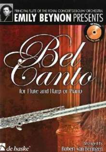 Bel Canto for Flute and Harp/Piano, Noten