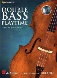 Double Bass Playtime, Kontrabass u. Klavier, m. Audio-CD, Noten