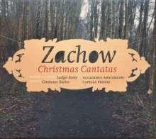 Friedrich Wilhelm Zachow (1663-1712): Weihnachtskantaten, CD