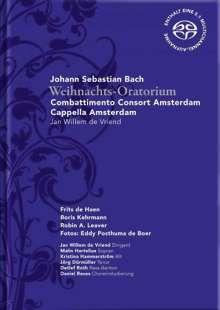 Johann Sebastian Bach (1685-1750): Weihnachtsoratorium BWV 248, 2 SACDs